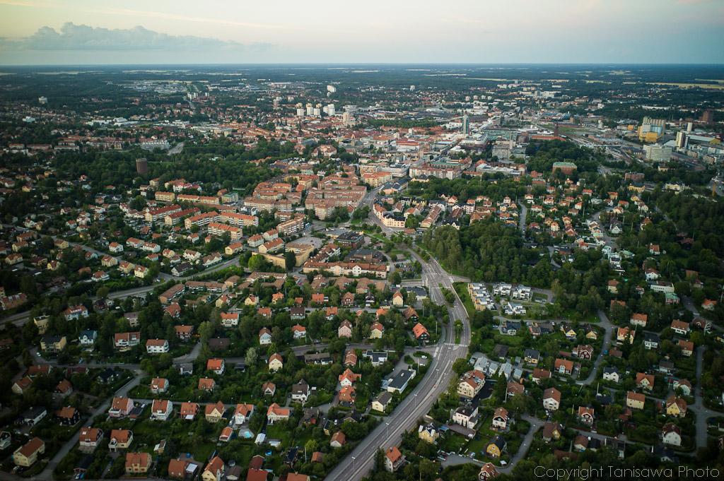 Västerås from the air