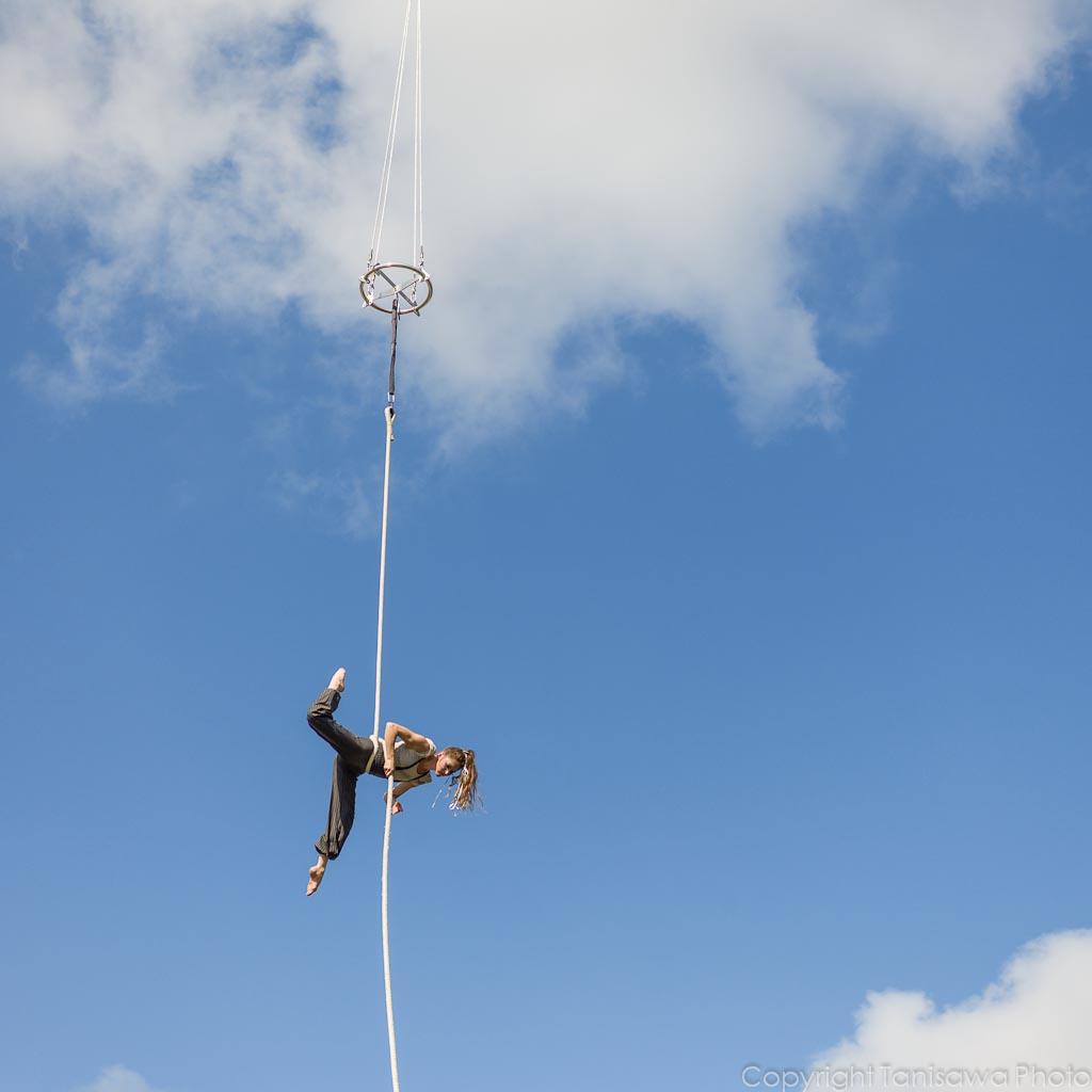 Cirkus Cirkör in the air