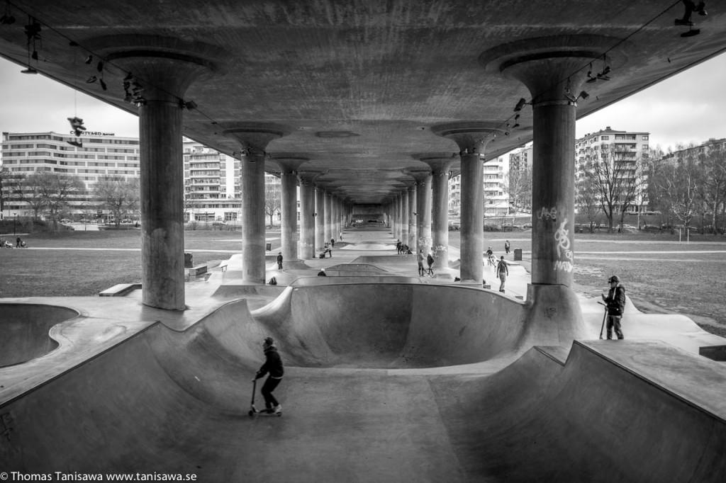 cold skate park
