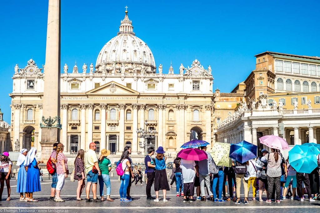 basilica di san pietro queue