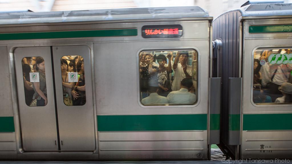 Subway shoot in Tokyo
